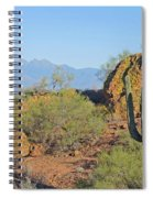 View To Four Peaks  Spiral Notebook