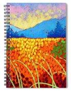 Violet Hills  Spiral Notebook