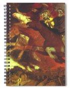 War 1896  Spiral Notebook