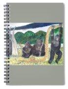 warriors of Bwindi Impenetrable  Spiral Notebook