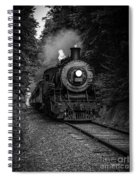 Whistle Through The Forest Spiral Notebook