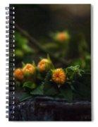 Wildflower Bouquet  Spiral Notebook