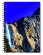 Winter Bridalveil Falls Spiral Notebook