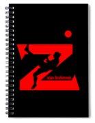 Zlatan Ibrahimovic Spiral Notebook