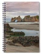 Wharariki Beach - New Zealand Spiral Notebook