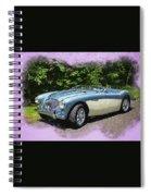 1956 Austin Healey 100-4 M  Spiral Notebook