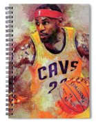 Lebron Raymone James Spiral Notebook
