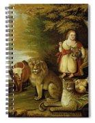 Peaceable Kingdom  Spiral Notebook