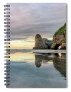 Wharariki Beach - New Zealand Spiral Notebook