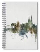 Cologne Germany Skyline Spiral Notebook