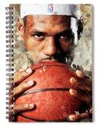 Lebron Raymone James Spiral Notebook