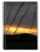 Photograph Of A Sunset Spiral Notebook