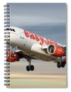 Easyjet Airbus A319-111 Spiral Notebook