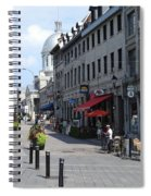 Old Montreal Spiral Notebook