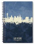 Las Vegas Nevada Skyline Spiral Notebook