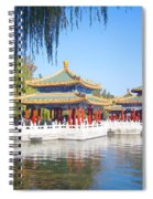 Beautiful Beihai Park, Beijing, China Photograph Spiral Notebook