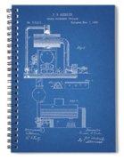1885 Furnace Patent Spiral Notebook