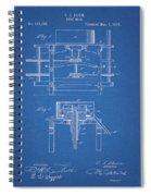 1885 Grist Mill Patent Spiral Notebook