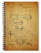 1885 Hunting Decoy Patent Spiral Notebook