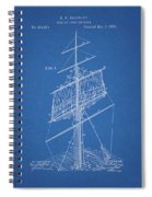 1885 Sails Patent Spiral Notebook