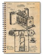 1899 Photographic Camera Patent Print Antique Paper Spiral Notebook