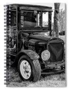 1925 Ford Model T Delivery Truck Hot Rod Spiral Notebook
