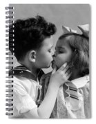 1930s Two Children Young Boy And Girl Spiral Notebook