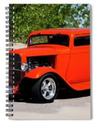 1932 Ford 3 Window Coupe  Spiral Notebook