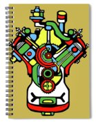 1932 Ford Flathead V-8 Spiral Notebook