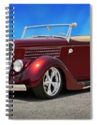 1935 Ford Roadster Spiral Notebook