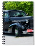 1937 Oldsmobile F 37 Spiral Notebook