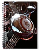 1937 Vintage Model 1508 Steering Wheel Spiral Notebook