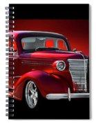 1938 Chevrolet Master Deluxe Sedan Spiral Notebook