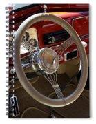 1938 Pontiac Silver Streak Interior Spiral Notebook