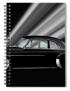 1950 Chevrolet Custom Deluxe Coupe Spiral Notebook