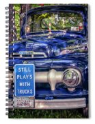 1951 Mercury Pickup Truck Spiral Notebook
