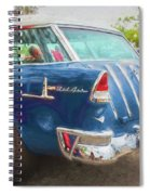 1955 Chevrolet Bel Air Nomad Station Wagon 228 Spiral Notebook