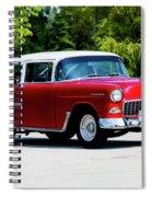 1955 Chevrolet Bel Air Spiral Notebook