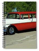 1956 Chevrolet Handyman Station Wagon  Spiral Notebook