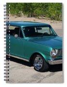 1963 Chevrolet Nova Ss Spiral Notebook