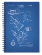 1964 Salon Suction Patent Spiral Notebook