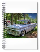 1966 Chevrolet C10 Pickup Truck Spiral Notebook