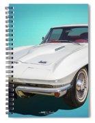 1966 Vette Spiral Notebook