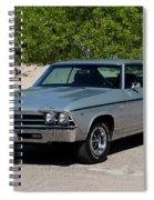 1969 Chevrolet Chevelle Ss 396 Spiral Notebook