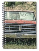 1971 Ford Pickup Truck For Sale In Utah Spiral Notebook