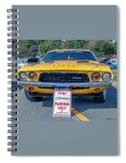 1973 Dodge Challenger Spiral Notebook