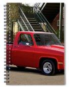 1983 Chevrolet C10 Lrhh Pickup I Spiral Notebook