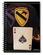 1st. Cavalry Spiral Notebook