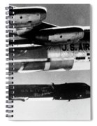 1x15 Rocket Plane Launched From The B52 Carrying It, 1962 Spiral Notebook