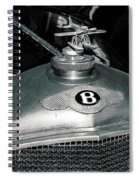 1928 Bentley 4 1/2 Litre Parkward Saloon Spiral Notebook